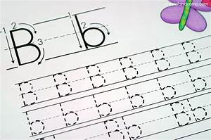 Handwriting practice for kids b is for butterfly for Children s books about writing letters