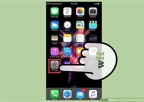 how to turn voice iphone how to turn voicemail 7 steps with pictures wikihow