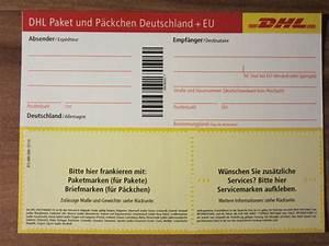 Porto Für Pakete : post warensendung mit p ckchenschein bechriften dhl zustellung beschriften ~ Eleganceandgraceweddings.com Haus und Dekorationen
