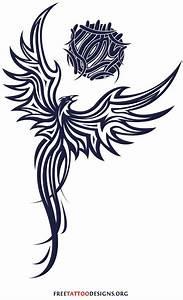 38 best Fire Phoenix Tribal Tattoo images on Pinterest ...