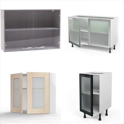 portes de cuisine buffet de cuisine ikea en pin vitree