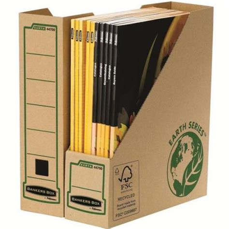 bankers box decorative magazine file bankers box by fellowes earth series pk20 magazine file
