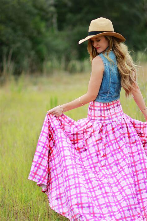 shabby apple maxi skirt think pink upbeat soles orlando florida fashion blog