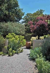 Gravier Decoratif Exterieur : design exterieur gravier d coratif allee jardin plantes ~ Melissatoandfro.com Idées de Décoration