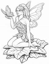 Garden Fairy Stones Drawings Coloring Pages Stepping Wind Decor Drawing Adult Pencil Sketch Fantasy Coroflot Chimes Stakes Flags Various Including sketch template