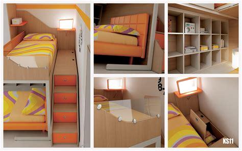 bureau lit mezzanine chambre enfant lits superposés en mezzanine