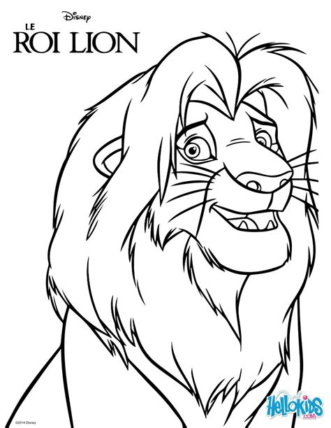 lion king simba coloring pages hellokidscom