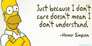 Bart Simpson Qu... Doh Care Quotes