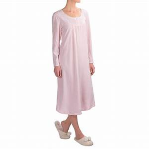 Kayanna Brushed Jersey Nightgown (For Women) - Save 65%