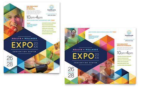 poster samples health fair poster template design