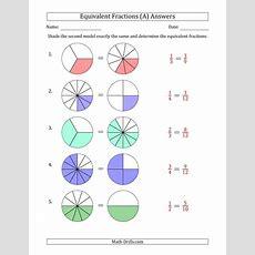 Equivalent Fractions Models (a