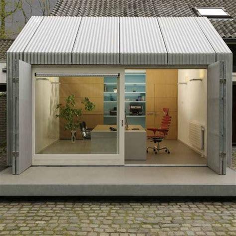 transformer garage en bureau bright garage redesign idea creating modern home office