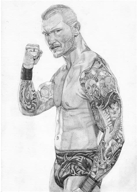 Randy Orton Sleave Tattoos Drawing - mazcroft © 2019 - Nov 10, 2012