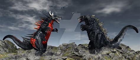 Godzilla Vs The Ancient Monster Togarasaurus By