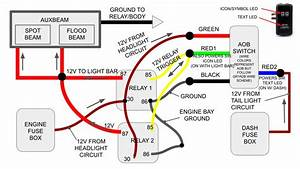 Led Light Bar Switch Wiring Diagram