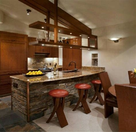 desayunador rustico casa pinterest