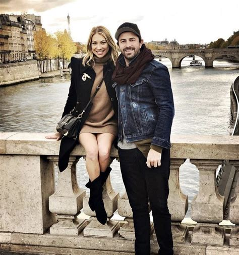 stassi schroeder visits germany france  beau clark