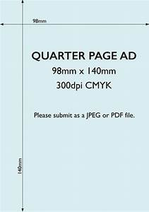 advertise in the esdc magazine With quarter page flyer template