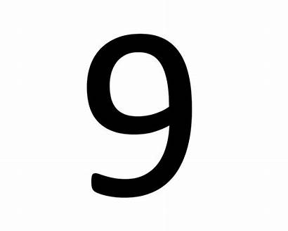 Number Numbers Number9 Pngimg