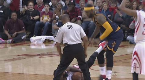 James Harden suspended for kicking LeBron James in the ...