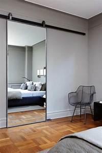 Grand Miroir Chambre : comment r aliser une belle d co avec un miroir design miroirs pinterest ~ Teatrodelosmanantiales.com Idées de Décoration
