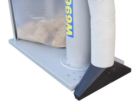 Dust Collector Floor Sweep by Charnwood W696 Dust Collector With Floor Sweeping Attachment