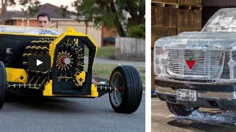 6 Cool Custom Cars Made Of Stuff