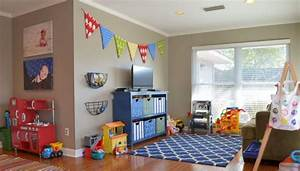 rangement salle de jeux enfant 50 idees astucieuses With idee deco salle de jeux