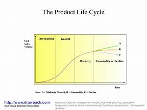 The Product Life Cycle Business Diagram