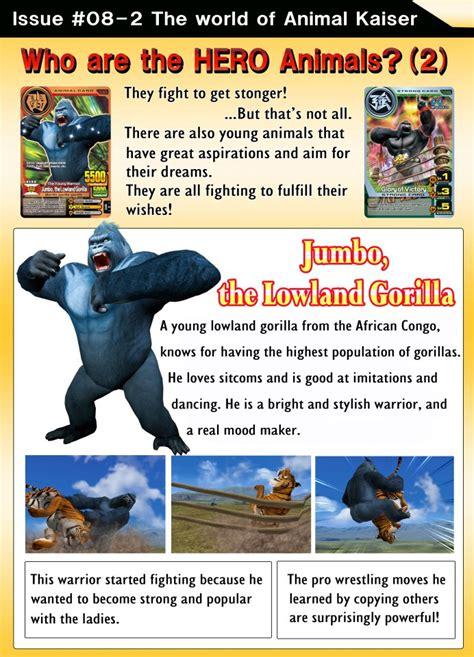 animal kaiser   card games kid joe  tiger