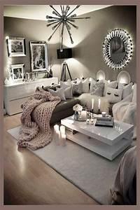 Cozy, Neutral, Living, Room, Ideas