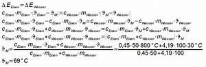 Mischtemperatur Berechnen : 1415 unterricht physik 10e dynamik ~ Themetempest.com Abrechnung