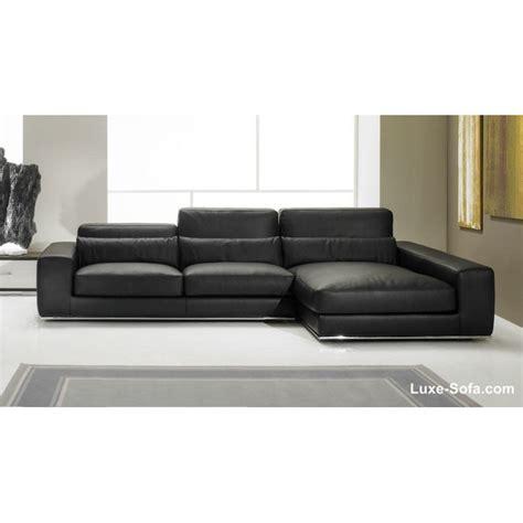 canapé convertible luxe et confort canapé d 39 angle de luxe en cuir de vachette matisse verysofa
