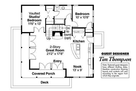 craftsman floor plans craftsman house plans cedar view 50 012 associated designs