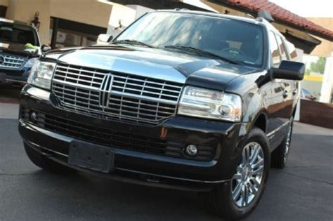 old car owners manuals 2010 lincoln navigator l electronic valve timing buy used 2010 lincoln navigator blk blk rear dvd like new 1 owner in tempe arizona united