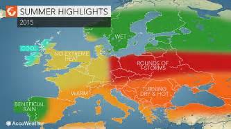 europe summer forecast heat to grip the balkans but bypass uk