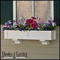 flower boxes for windows Solera Flower Box, Window Flower Box | HooksAndLattice.com