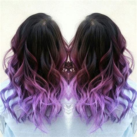 Purple Ombre Ombre Hair Color And Ombre Hair On Pinterest