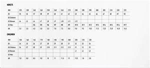 Birkenstock Size Chart Gallery Of Chart 2019