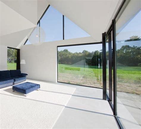 modern barn style home showcases glazings   grade