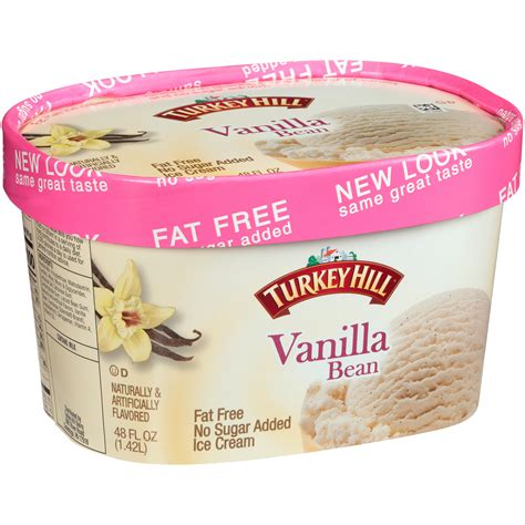 Stir well and transfer the mix to greased plate and let it cool. Turkey Hill Fat Free Ice Cream : Gluten Free Ice Cream ...