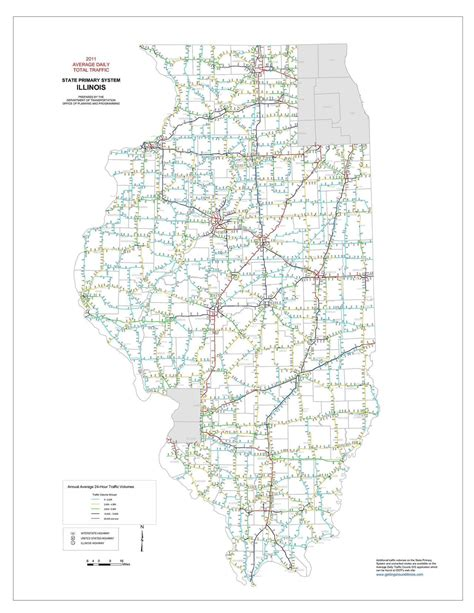 Illinois Traffic Map | Time Zone Map