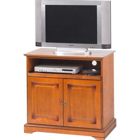 meuble tv plateau pivotant 2 portes louis philippe beaux