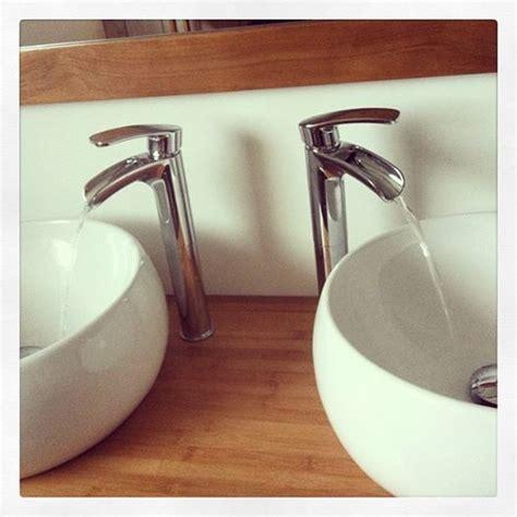 notre salle de bain vasque meuble miroir alin 233 a mitigeur cascade castorama 22