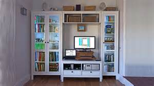 Ikea Closet Accessories by Hemnes Tv Bench Hack For Pcs Or Large Av Equipment Ikea