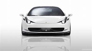 Ferrari 458 Italia Wallpaper White - image #467