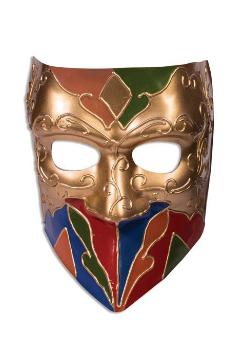 adult classic jester mask