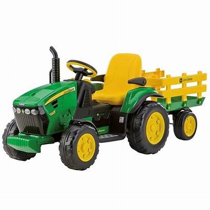 Tractors Electric Diggers Ride