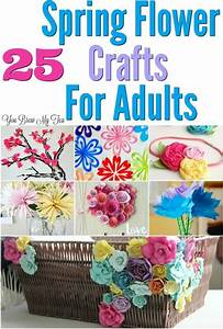 25 Flower Craft Ideas For Adults - | Crafts, Paper flowers ...