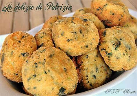 crocchette  patate porri  spinaci ptt ricette